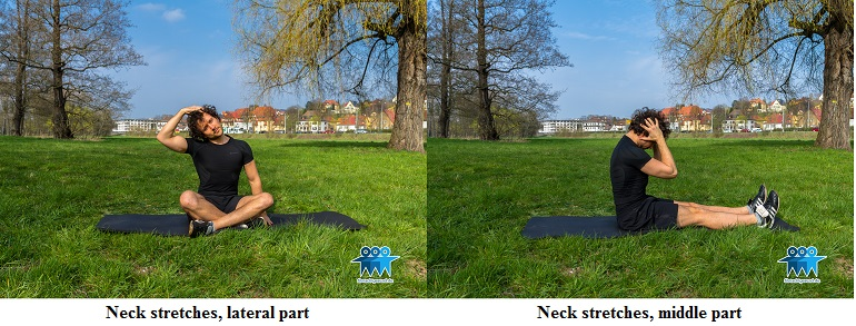 Neck stretches variations