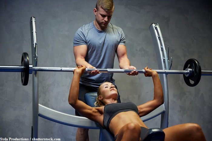 Eccentric weight training