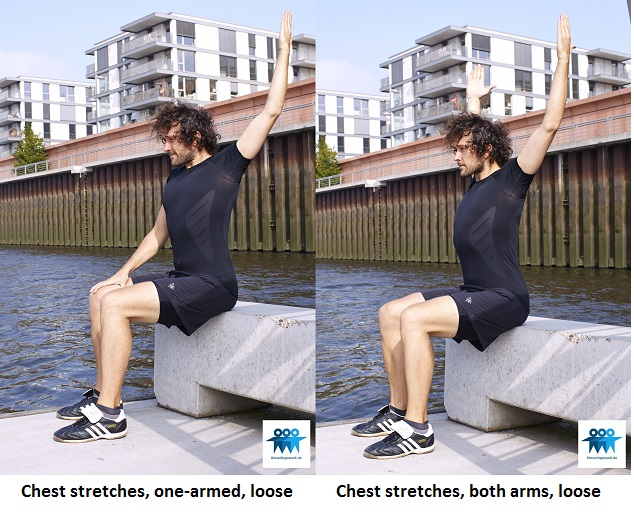 Chest stretches variations 2
