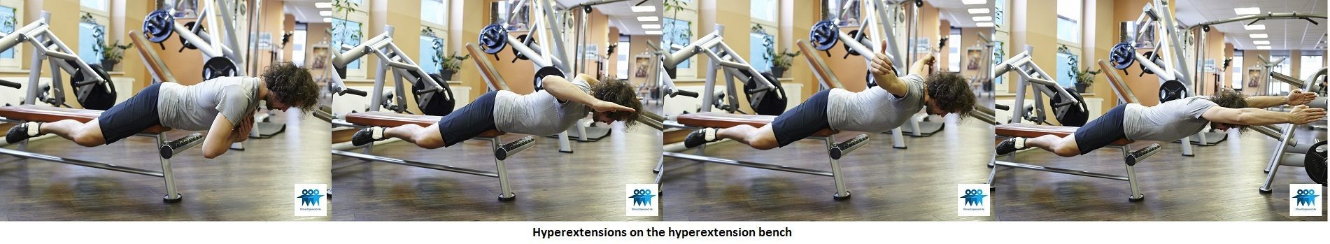 Hyperextensions on the bench