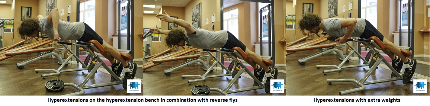 Hyperextensions on the hyperextension bench