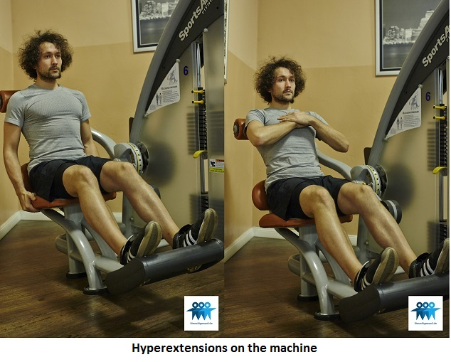 Hyperextensions on the machine