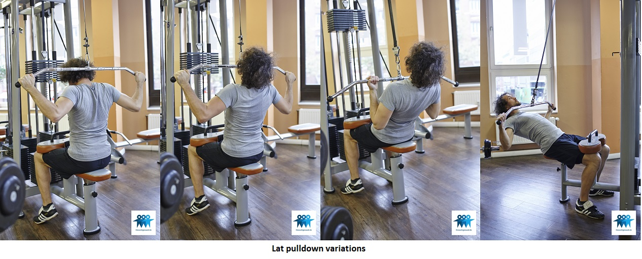 Lat pulldown variations